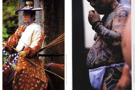 Tattoo And Yabusame Festival In Japan
