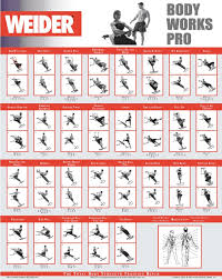 weider workout chart images excercises pinterest exercise total gym 1000 manual at Total Gym Parts Diagram