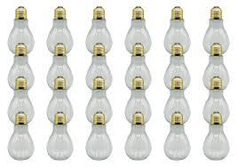 Fillable Light Bulbs Creative Hobbies Clear Plastic Fillable Light Bulbs Great
