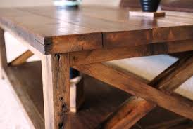 29 novrustic wood coffee table plans