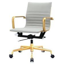 white office chairs gold coast and chair for vanity desk legs bean bag 6 patio