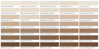 Cathedral Stone Color Chart Lowes Brown Color Chart Bing Images Exterior Paint