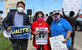 Residents Rally In Huber Heights: 'Racism Against The AAPI ...
