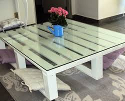 outdoor table diy ideas. pallet furniture ideas easy reuse diy white table glass top outdoor