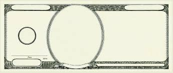 Money Bill Template Fundred Make