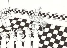 Charming Design Sister Location Coloring Pages Funtime Freddy Fnaf