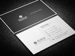 Simple Business Card Design Template Simple Business Card Photoshop Cmyk Inch Dpi Simple