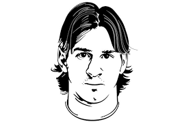 Lionel Messi Vector Portrait Vector Free Download