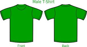 T Shirt Template Magnificent Green T Shirt Template Engneeuforicco