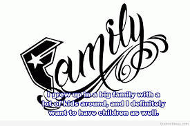 Famous Family Quotes Extraordinary Famous Family Logo With Quote