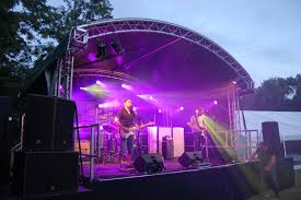 Outdoor Event Stage Hire ARC Roof Hire ...