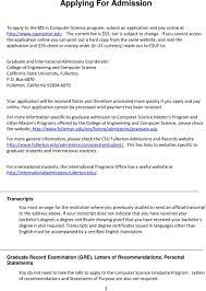 Department Of Computer Science Graduate Handbook Ms In