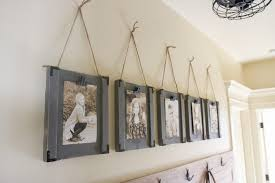 hanging picture frames diy and you shanty 2 chic