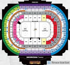 Maple Leafs Seating Chart Toronto Maple Leafs At Anaheim Ducks Canadians In Orange