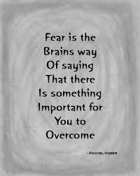 Facing Fear Quotes Impressive That Sinking Feeling In Your Stomach Is Your Body's Way Of Helping