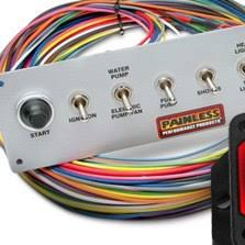 carid com hot rod wiring harness painless painless performance wiring harnesses 439 products painless perfomance� 8 switch pro street toggle switch panel
