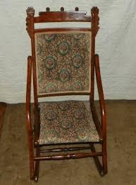 walnut carved fold up rocker rocking chair and 50 similar items t2ec16z se9swm 1vobrci86zt 60 57