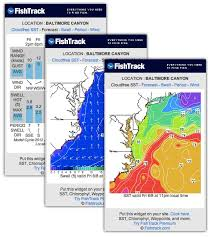 Free Sst Charts Free Fishing Widget And Weather Fishtrack Com