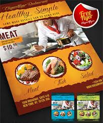 Restaurant Flyer Extraordinary 44 FREE PREMIUM RESTAURANT TEMPLATES SUITABLE FOR PROFESSIONAL