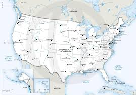 Vector Map of United States of America ...