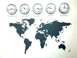 office wall clocks. Time Zones Wall Clock Zone Clocks Office L