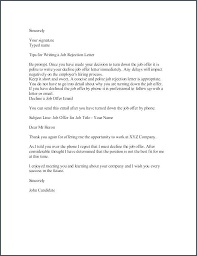 Rejecting A Job Offer After Accepting It Sample Job Offer Letter Examples In Word Acceptance Email