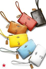 For the girl who grew up loving Disney, these Coach wristlets are a perfect  transition into her teens without leaving Mickey behind.