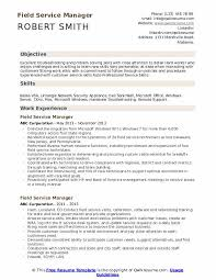 Auto Service Manager Resumes Field Service Manager Resume Samples Qwikresume