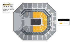 Golden 1 Center Seating Chart Cirque Du Soleil Crystal Golden1center