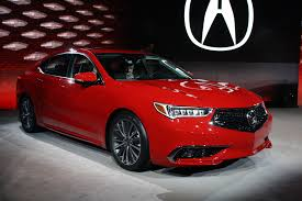 Updated 2018 Acura TLX Debuts with Swanky New Grille » AutoGuide ...