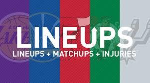 Nba Matchups Lineups And Injury News 4 9 19
