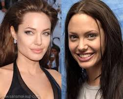 what do you think which picture of angelina jolie is better actresses without makeup