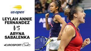Leylah Annie Fernandez vs Aryna ...