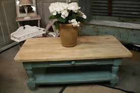 provence coffee table chalk paint coffee table