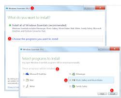 once the installation is plete photo gallery will be available with your other windows programs