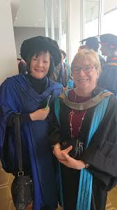 """Kingston and St George's on Twitter: """"Lovely picture of @JuliaGale12 Head  of #Nursing and Georgina Sims, Head of #Midwifery at #Graduation2019… """""""
