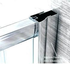 frameless shower door seal cozy replace shower door seal shower door frame seal shower door frame
