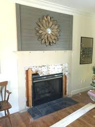 diy fireplace makeovers fireplace makeover tile demo 25 best diy fireplace makeovers