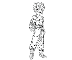 Coloring Pages Super Vegeta Saiyan God Betterfor