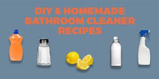 diy bathroom cleaner recipies
