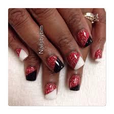 Alabama Nail Art Designs Georgia Bulldogs Nails