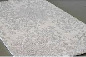 grey white rug