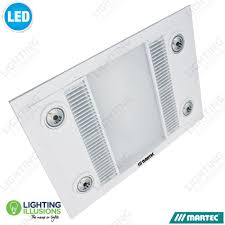 bathroom lighting melbourne. Martec Linear Bathroom 3 In 1 High Extraction Exhaust Fan With LED Light Lighting Melbourne