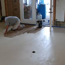Cement Kitchen Floor Painted Concrete Floors Image Of Painted Concrete Floors Home