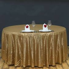table small round tablecloth side