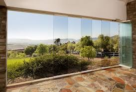 wall exterior glass room glass wall