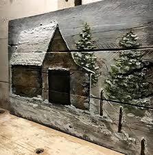 pallet wood barn art wood wall art