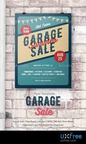 Garage Sale Flyer Poster 17121983 Uxfree Com