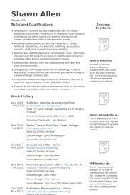 Microsoft Publisher Cv Templates Publisher Resume Samples Visualcv