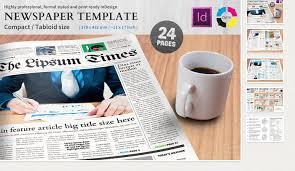 Creative Newspaper Template 6 Free Indesign Newspaper Templates Af Templates